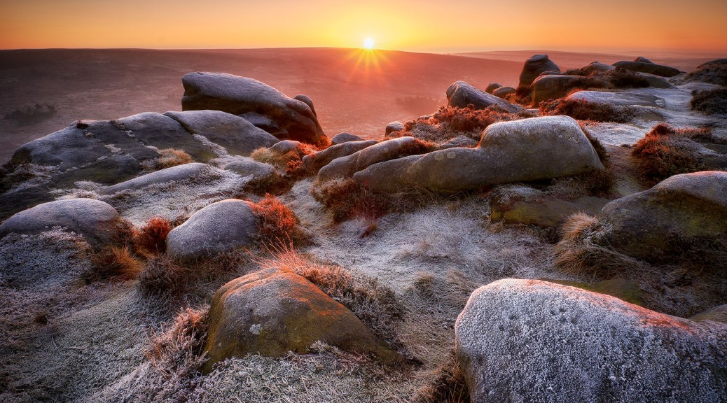 Higger Tor sunrise, Peak District