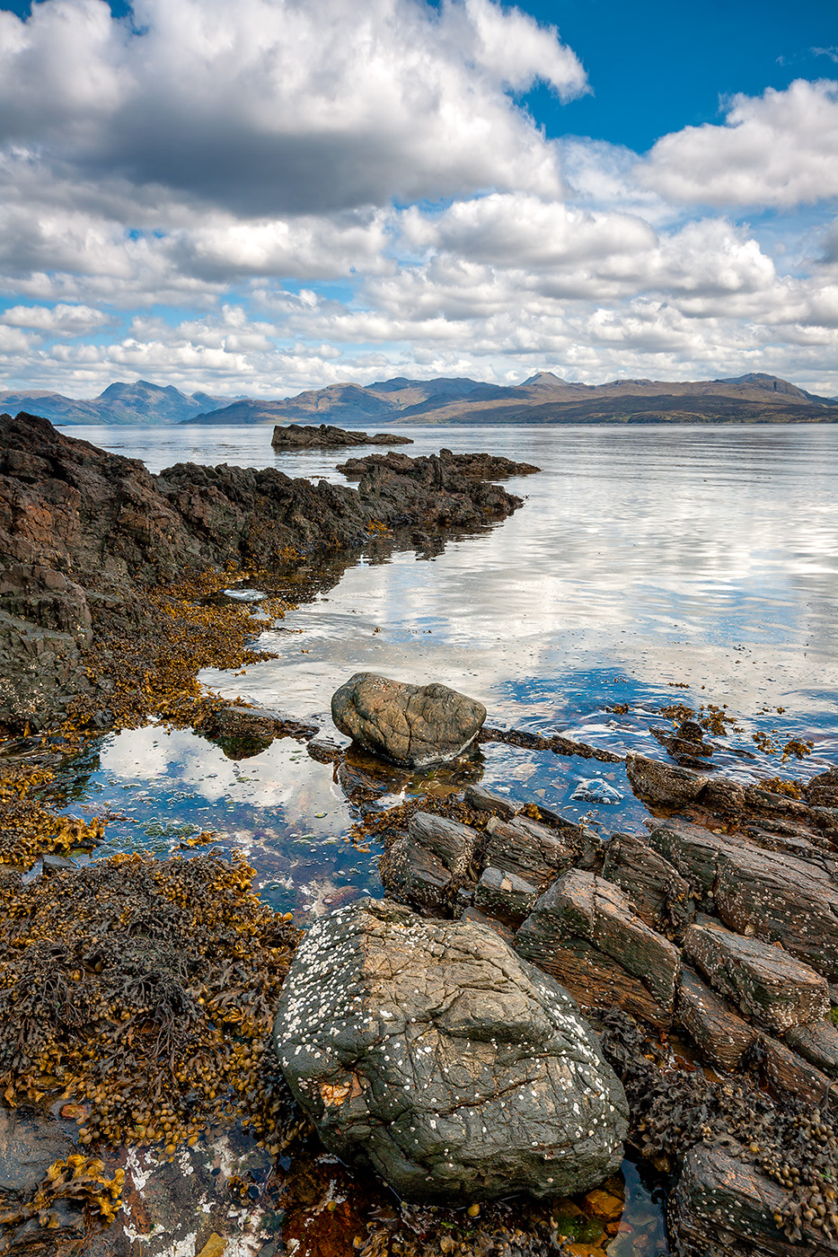 Views across the Sound of Sleat from Ardvasar, Skye