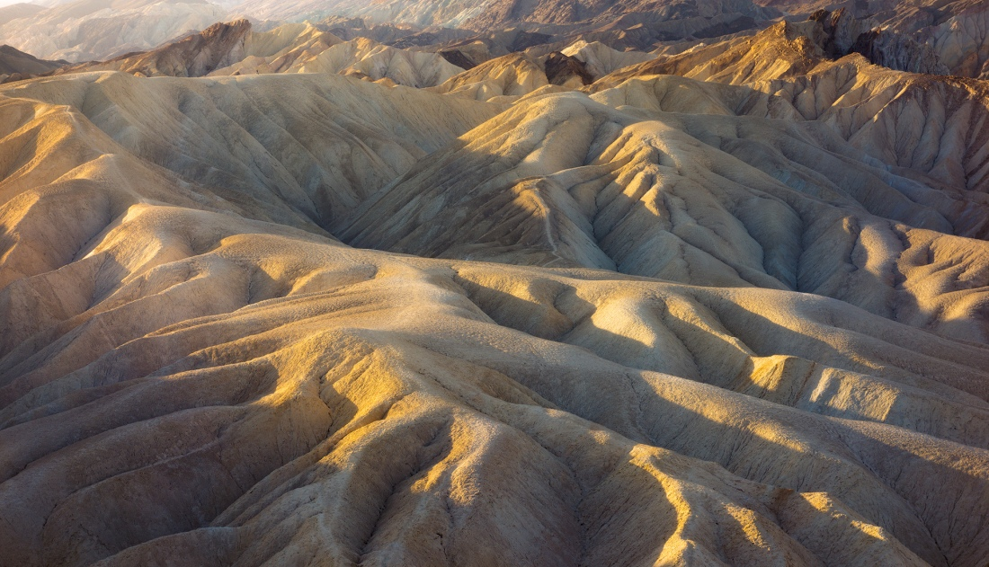 Near to Zabriskie Point in Death Valley