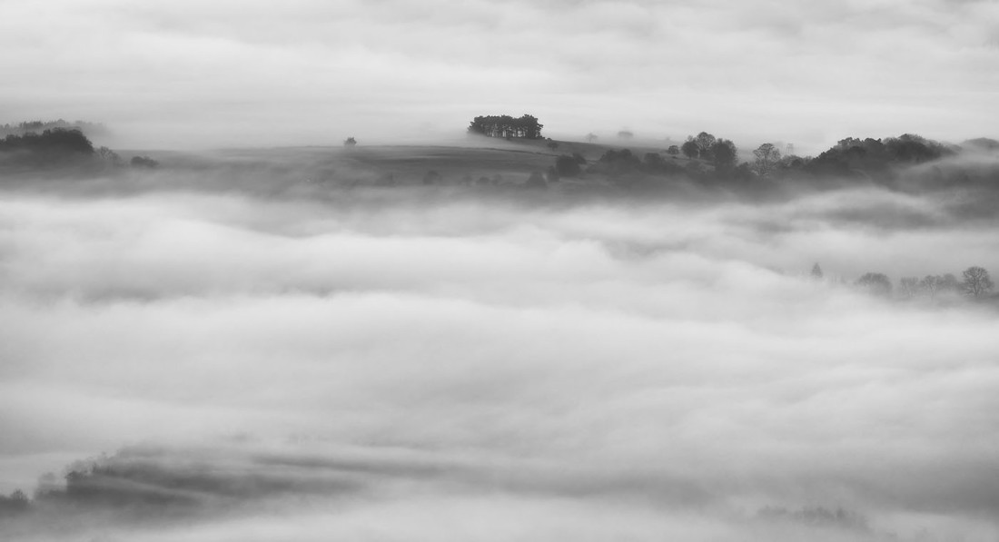 Cloud Inversion viewed from the Roaches